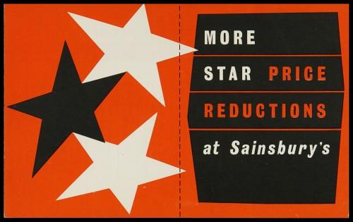 SA/MARK/ADV/3/3/7/12 - 'More Star Price Reductions at Sainsbury's' leaflet, May 1959