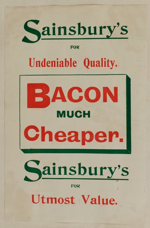 SA/MARK/ADV/1/1/1/1/1/6/1/36 - Bacon advertisement, [1910]