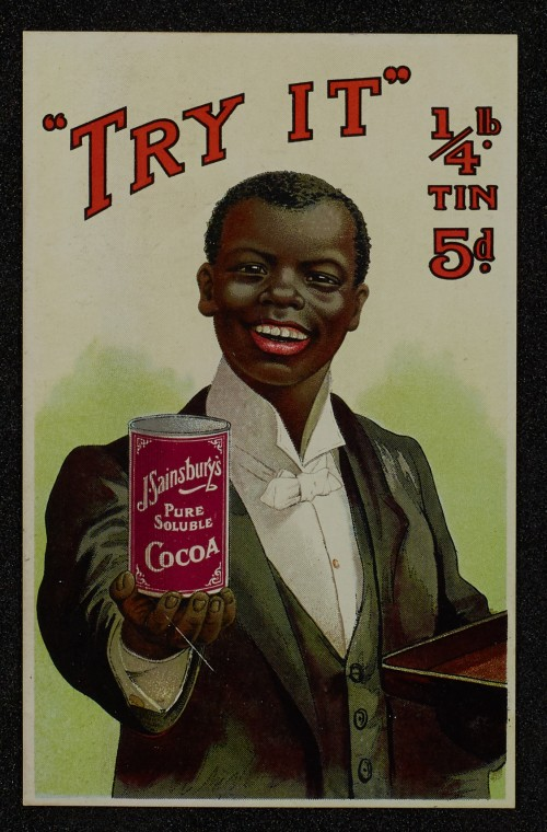 SA/MARK/ADV/1/1/1/1/1/6/1/64 - Postcard advert for Cocoa, 1910