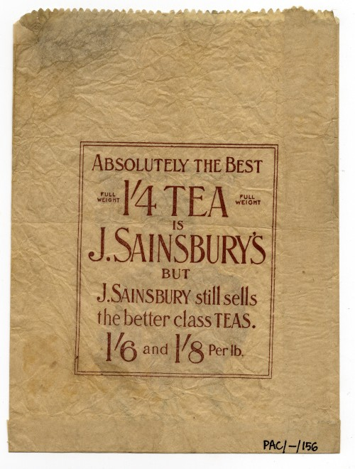 SA/PKC/PAC/6/1/1/1 - 'Sainsbury's - Absolutely the Best' Paper bag