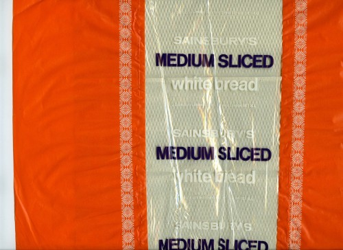 SA/PKC/PRO/1/1/2/1/1/15 - Sainsbury's Medium Sliced White bread packaging