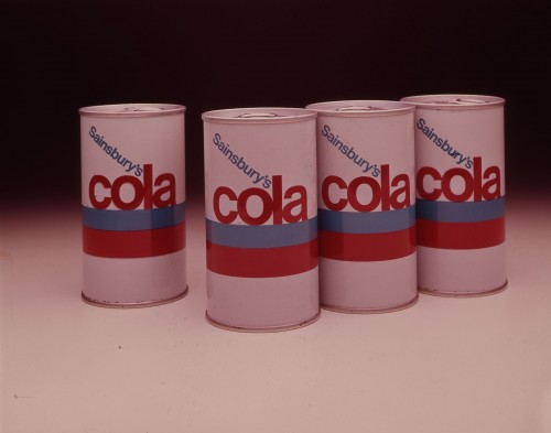 SA/PKC/PRO/1/11/4/a1/7 - Photograph of Sainsbury's Cola packaging, 1960s
