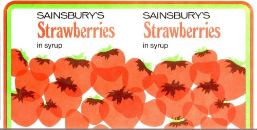 SA/PKC/PRO/1/12/2/2/15/1 - Sainsbury's strawberries in syrup packaging