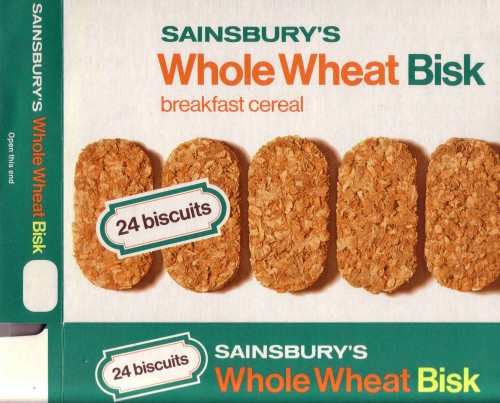 SA/PKC/PRO/1/13/2/1/9/2 - Sainsbury's Whole Wheat Bisk (24 biscuits) packet