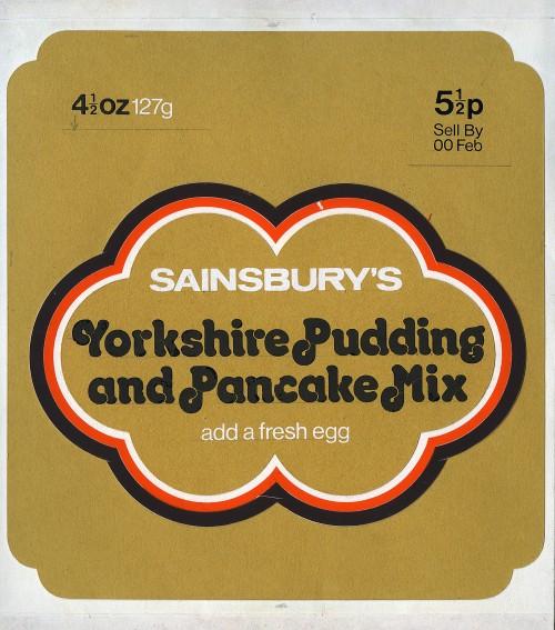 SA/PKC/PRO/1/14/1/83/1 - Sainsbury's Yorkshire Pudding and Pancake Mix packaging mock up