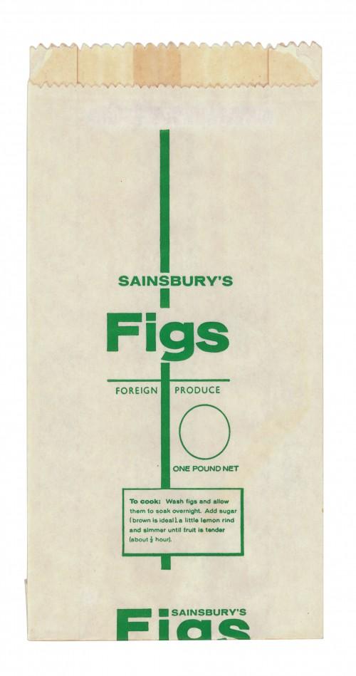 SA/PKC/PRO/1/14/2/2/142/1 - Sainsbury's Figs paper bag