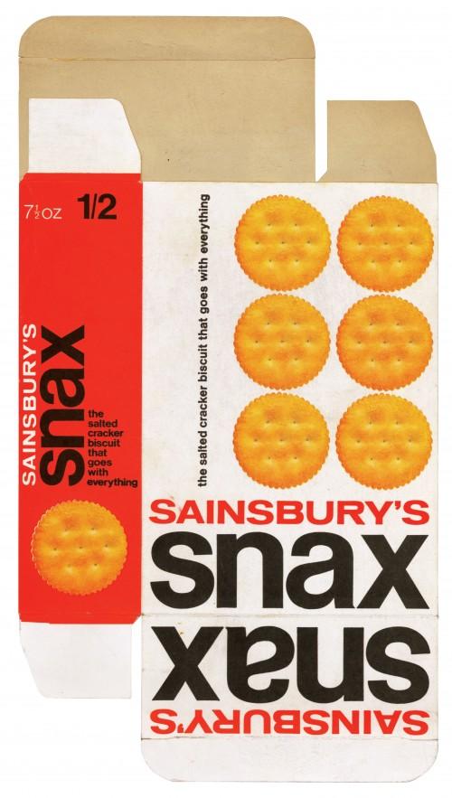 SA/PKC/PRO/1/2/2/2/4/1 - Sainsbury's Snax packet, 1970s
