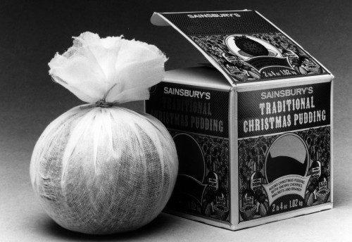 SA/PKC/PRO/1/23/4/1/1 - Photograph of Sainsbury's Traditional Christmas Pudding