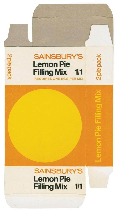 SA/PKC/PRO/1/3/2/3/23/1 - Sainsbury's Lemon Pie Filling Mix packet (2 pie pack)