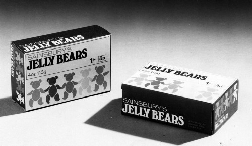 SA/PKC/PRO/1/4/4/2/2/2 - Photograph of package of Sainsbury's Jelly Bears