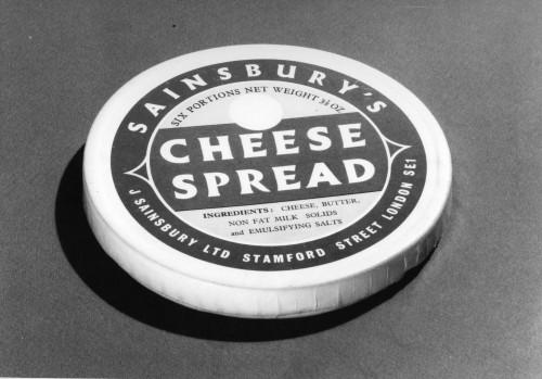 SA/PKC/PRO/1/6/4/a1/3 - Photograph of Sainsbury's Cheese Spread