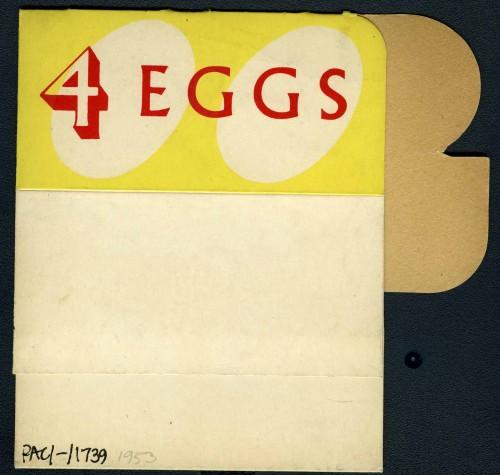 SA/PKC/PRO/1/8/2/5 - J. Sainsbury - 4 eggs packaging