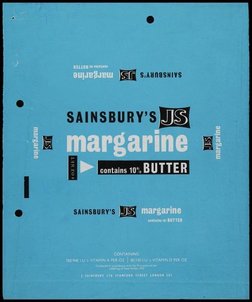 SA/PKC/PRO/1/6/2/1/3/2/2 - Sainsbury's JS Margarine packaging