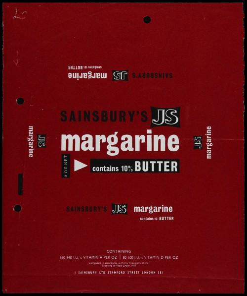 SA/PKC/PRO/1/6/2/1/3/2/3 - Sainsbury's JS Margarine packaging