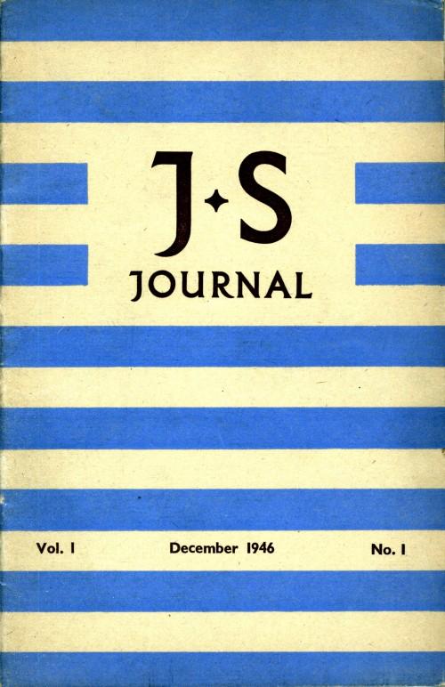 SA/SC/JSJ/1/1 - JS Journal Vol. 1 No. 1