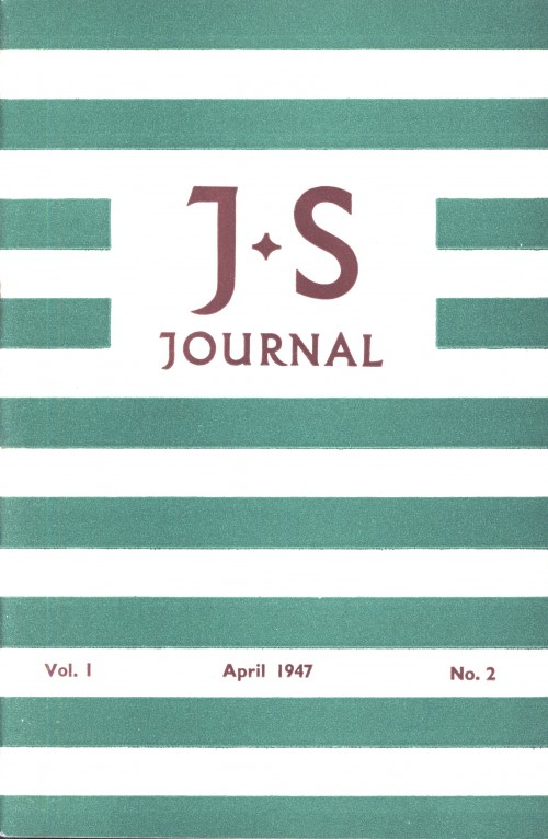 SA/SC/JSJ/2/1 - JS Journal Vol. I No. 2