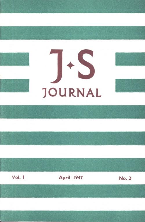 SA/SC/JSJ/2/1 - JS Journal Vol. I No. 2