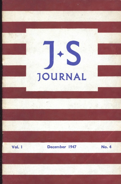 SA/SC/JSJ/2/3 - JS Journal Vol. 1 No. 4