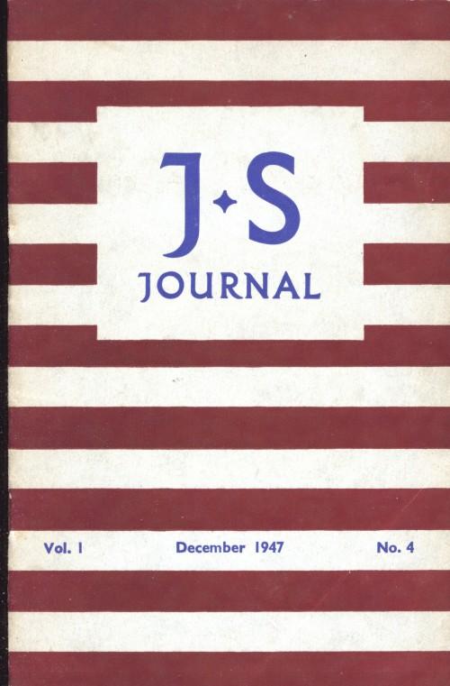 SA/SC/JSJ/2/3 - JS Journal Vol. 1 No. 4