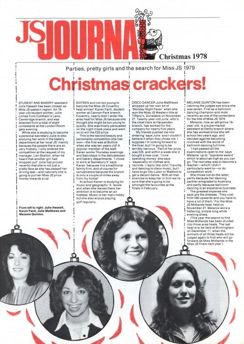SA/SC/JSJ/32/13 - JS Journal, Christmas 1978