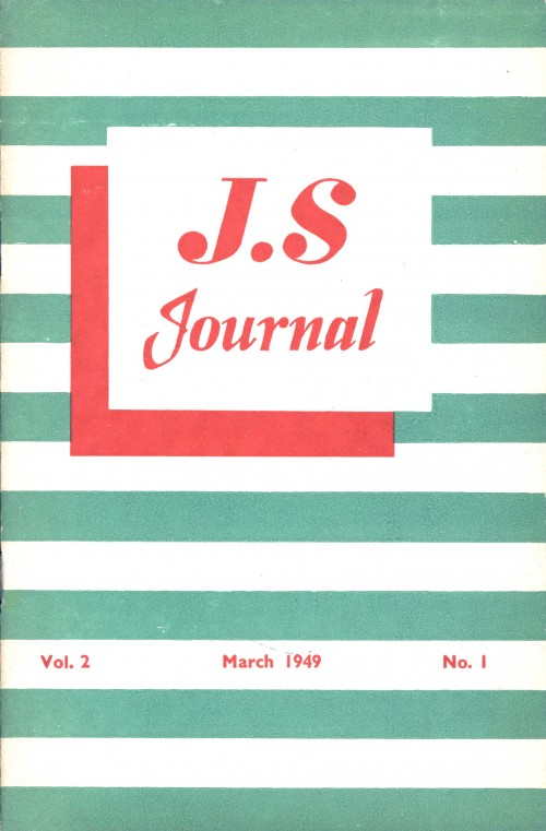 SA/SC/JSJ/3/1 - JS Journal Vol. 2 No. 1