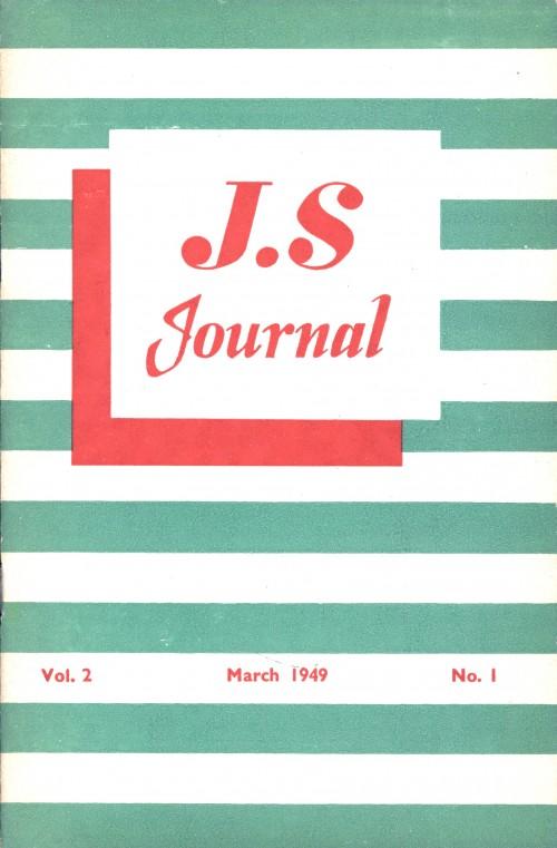 SA/SC/JSJ/3/1 - JS Journal Vol. 2 No. 1