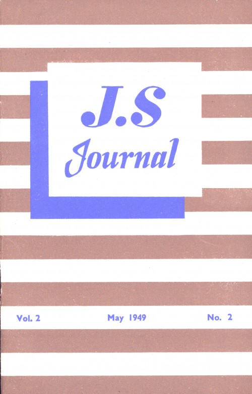 SA/SC/JSJ/3/2 - JS Journal Vol. 2 No. 2