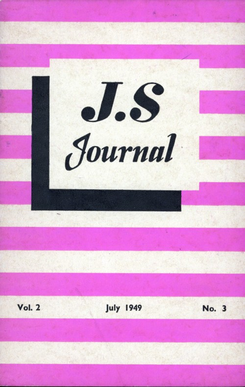 SA/SC/JSJ/3/3 - JS Journal Vol. 2 No. 3
