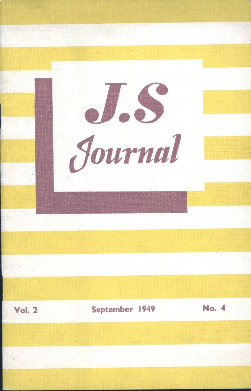 SA/SC/JSJ/3/4 - JS Journal Vol. 2 No. 4