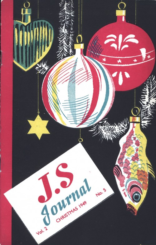 SA/SC/JSJ/3/5 - JS Journal Vol. 2 No. 5, Christmas 1949