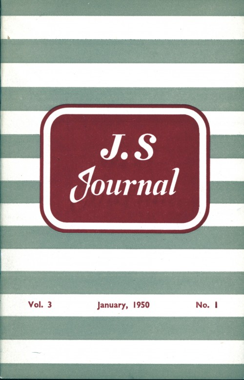 SA/SC/JSJ/4/1 - JS Journal Vol. 3 No. 1
