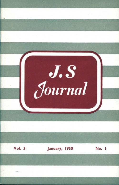 SA/SC/JSJ/4/1 - JS Journal Vol. 3 No. 1