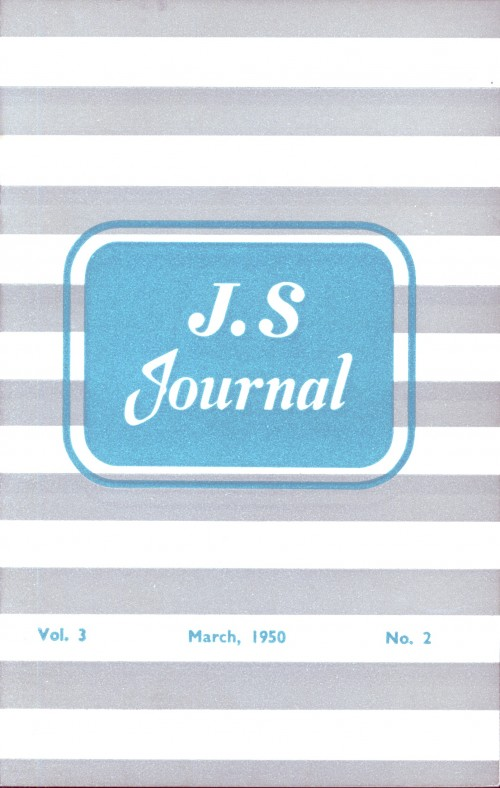 SA/SC/JSJ/4/2 - JS Journal Vol. 3 No. 2