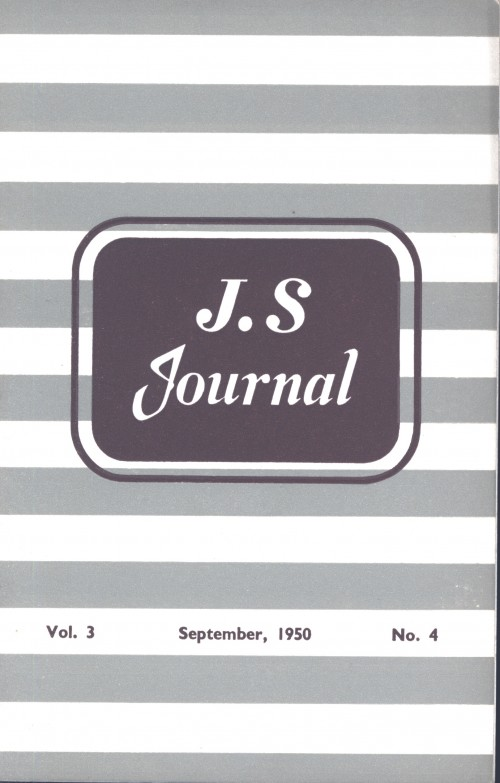 SA/SC/JSJ/4/4 - JS Journal Vol. 3 No. 4