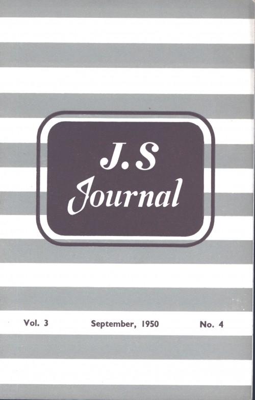 SA/SC/JSJ/4/4 - JS Journal Vol. 3 No. 4