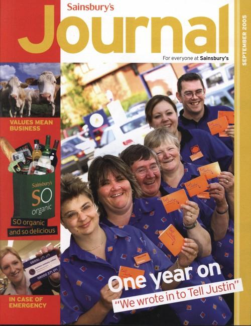 SA/SC/JSJ/59/7 - 'Sainsbury's Journal' September 2005