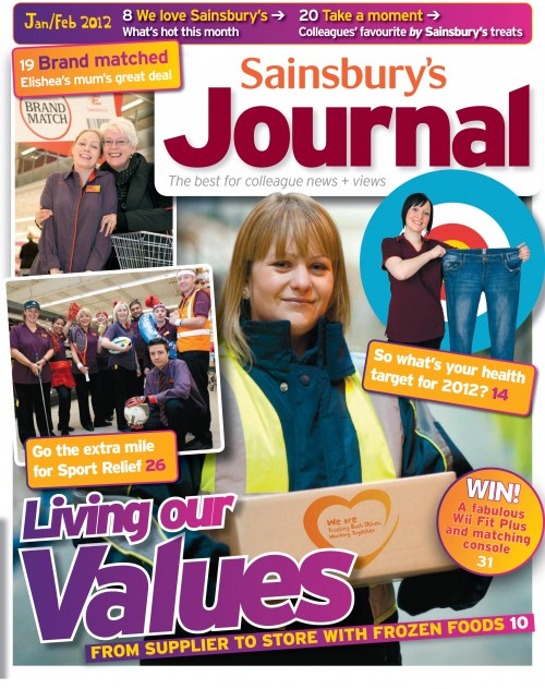 SA/SC/JSJ/66/1 - 'Sainsbury's Journal' January- February 2012
