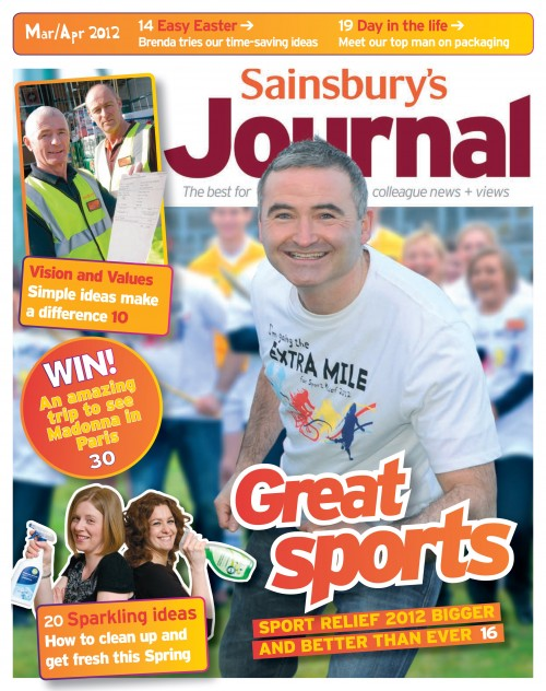 SA/SC/JSJ/66/2 - 'Sainsbury's Journal' March- April 2012