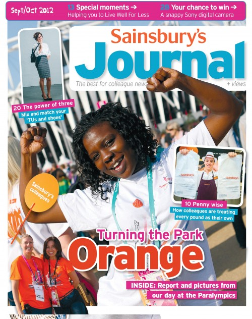 SA/SC/JSJ/66/5 - 'Sainsbury's Journal' September- October 2012