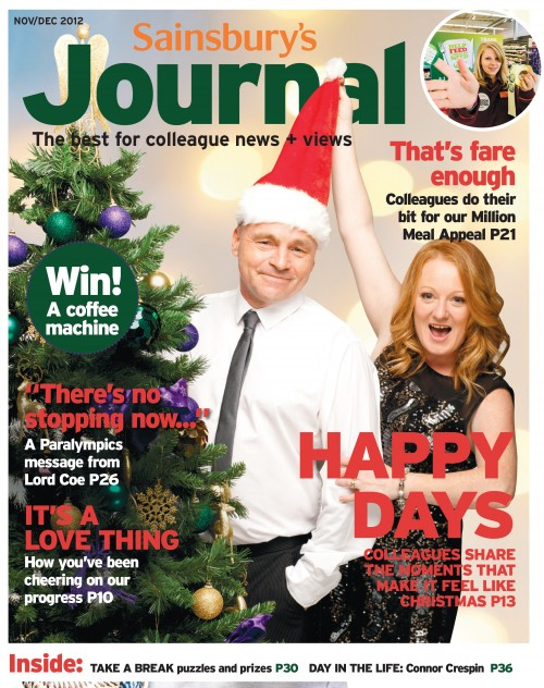 SA/SC/JSJ/66/6 - 'Sainsbury's Journal' November- December 2012