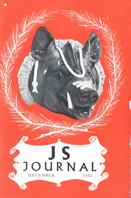 SA/SC/JSJ/6/3 - JS Journal, Dec 1952