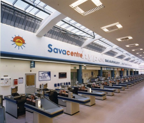 SA/SUB/SBHS/A-Z/S/IMA/2/3 - Photograph of Sydenham Savacentre interior: checkouts