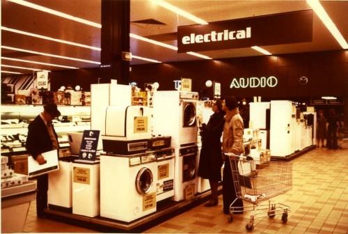SA/SUB/SBHS/A-Z/W/IMA/1/3 - Photograph of interior of Washington Savacentre: electrical department
