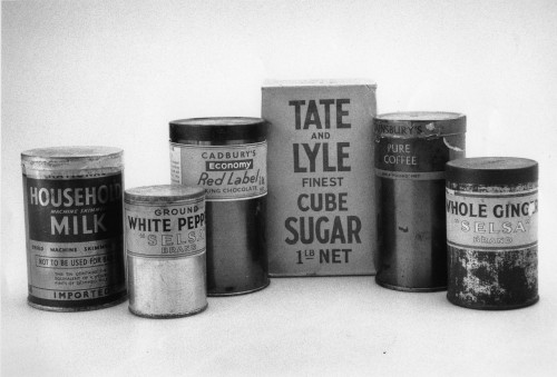 SA/WAR/2/IMA/1/3 - Photograph of arrangement of Second World War products
