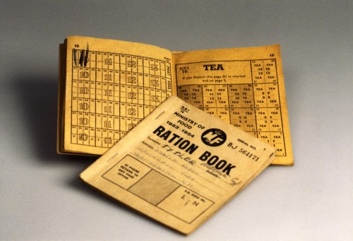 SA/WAR/2/IMA/1/5 - Image of ration book