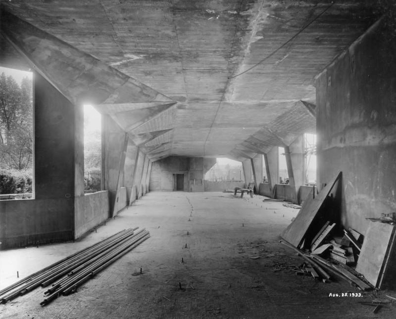 SA/BL/1/16/6 - Photograph of construction of Sainsbury's factory at Paris Gardens, Blackfriars, London (interior), 25 Aug 1933
