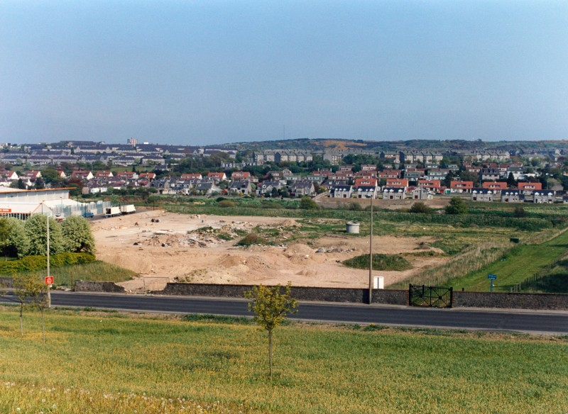 SA/BRA/7/A/1/15 - Image overlooking the site for Garthdee Road, Aberdeen branch before construction