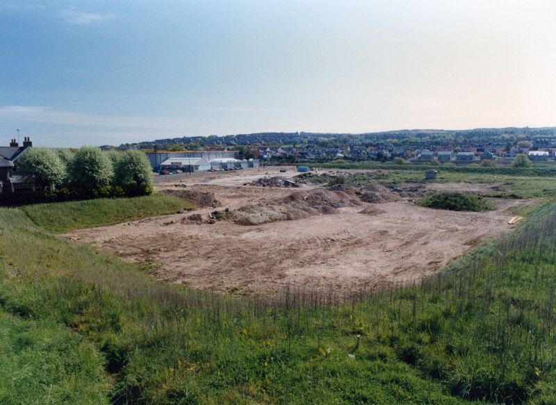 SA/BRA/7/A/1/16 - Image overlooking the site for Garthdee Road, Aberdeen branch before construction