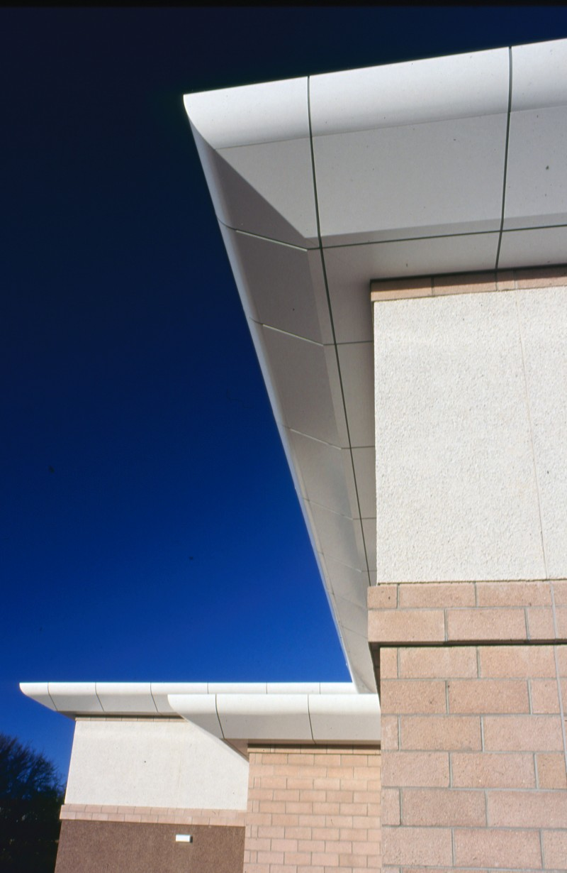 SA/BRA/7/A/1/55 - Image of detail of building at Garthdee Road, Aberdeen branch