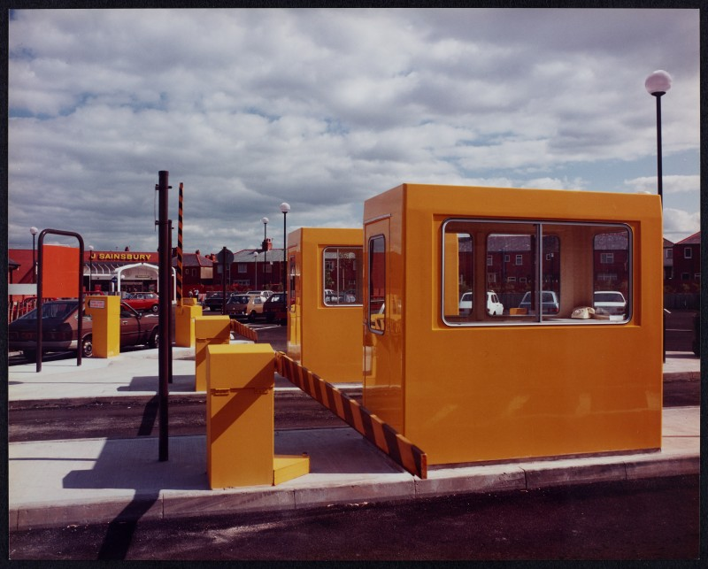 SA/BRA/7/B/25/6 - Image of the car park at Red Bank Road, Blackpool branch